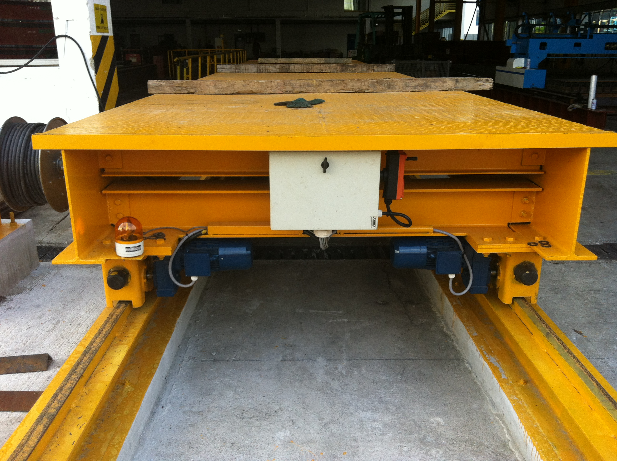 Interlift Transfer Car Transfer Cart Rail