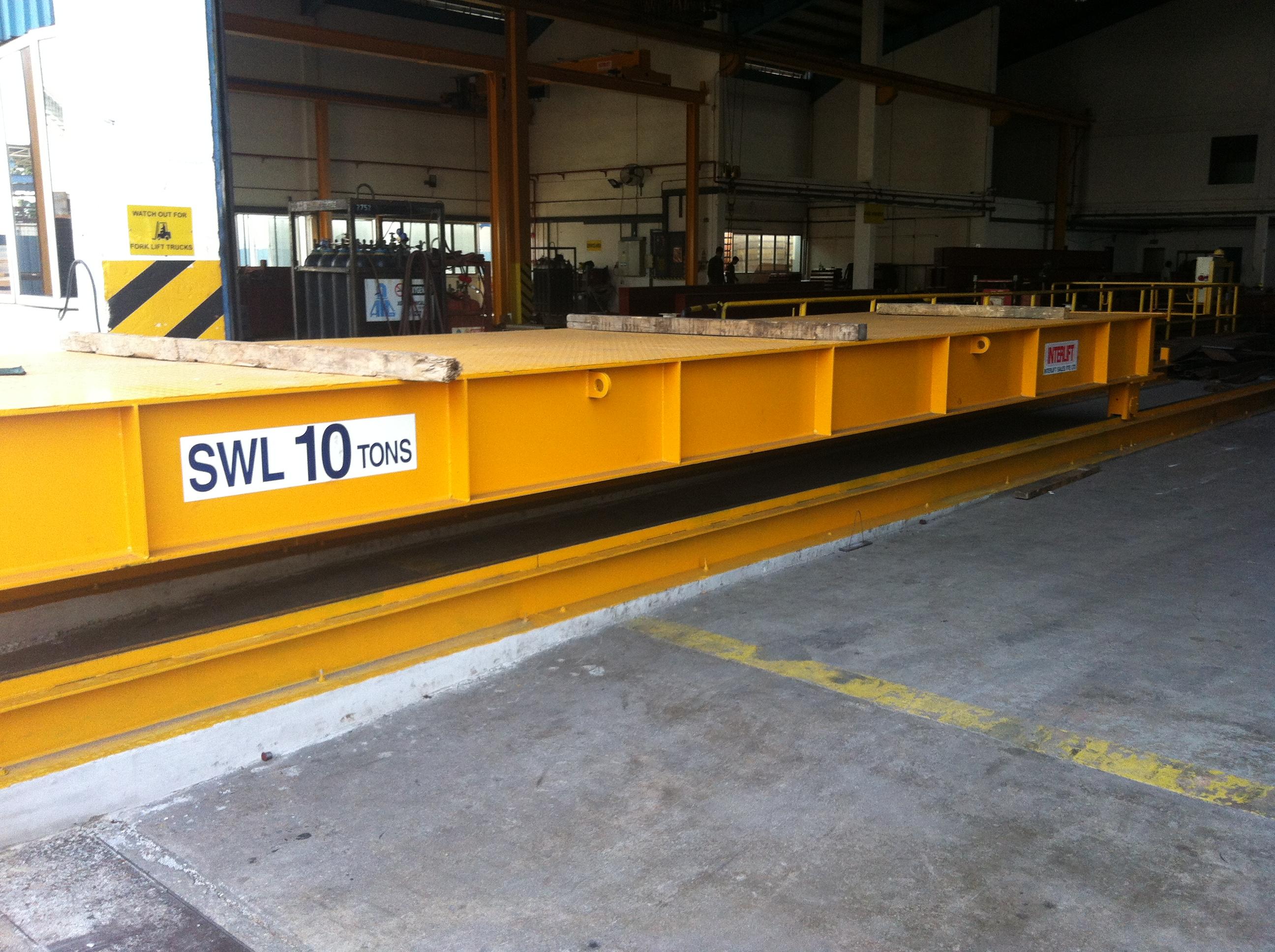 Interlift Transfer Car Transfer Cart Rail