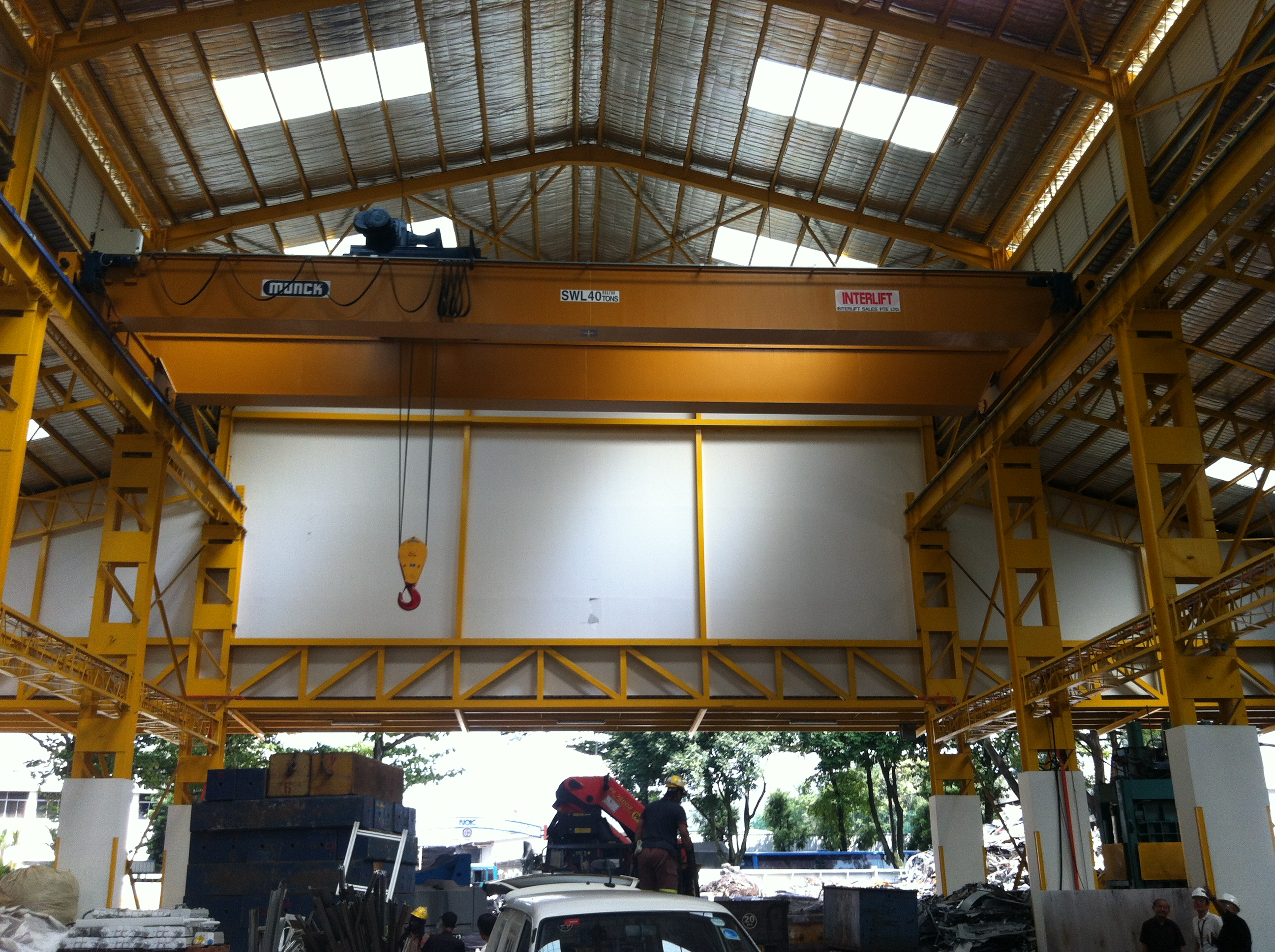 Interlift Overhead Cranes Singapore Customized Lifting