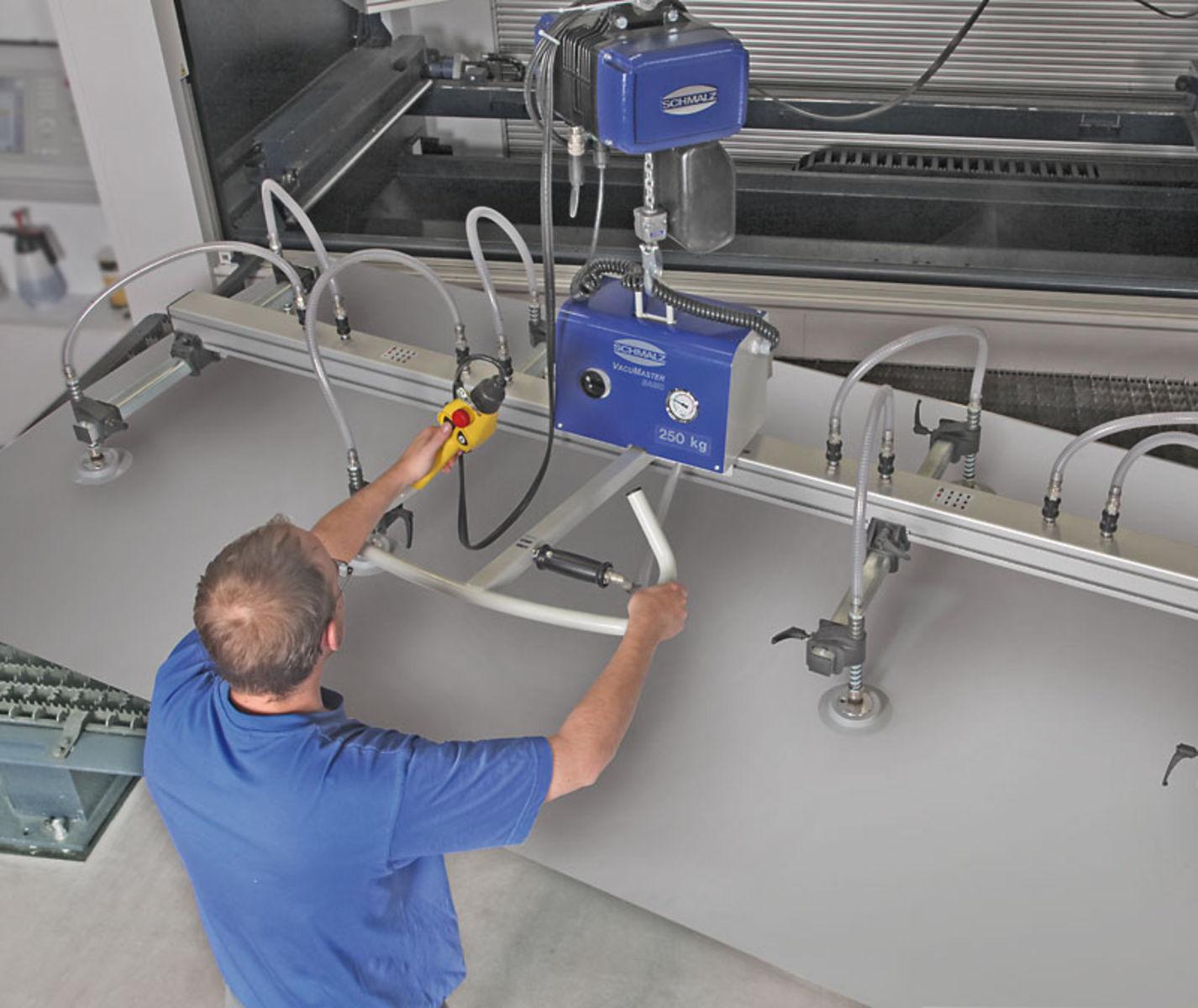 Panel Lifting Devices : Interlift vacuum lifter lifting equipment schmalz